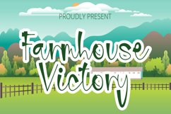 Farmhouse Victory - Handwritten Font Product Image 1