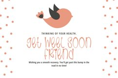 Flaying Birds - Cute and Quirky Handwritten Font Product Image 2