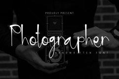 Photographer - Handwritten font Product Image 1