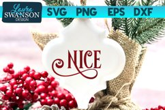Nice SVG Cut File   Christmas SVG Cut File Product Image 1