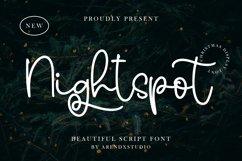 Nightspot - Beautiful Scipt Font Product Image 1
