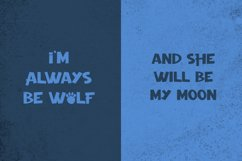 Night Wolf - Cute Halloween Font Product Image 3
