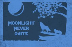 Night Wolf - Cute Halloween Font Product Image 4