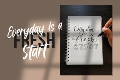 Web Font Nitty Gritty - Handlettered Font Product Image 2