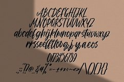 Web Font Nitty Gritty - Handlettered Font Product Image 6