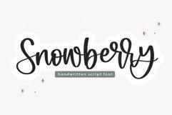 Snowberry - A Bouncy Script Font Product Image 1