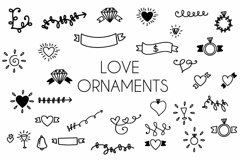 love ornaments Product Image 1