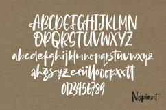 Web Font Nopiant - Rough HandWritten Font Product Image 5