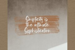 Nopiant - Rough HandWritten Font Product Image 5