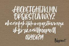 Nopiant - Rough HandWritten Font Product Image 6