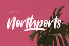 Northports Display Font Product Image 1