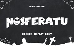 Nosferatu - Horror Display Font Product Image 1