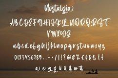 Web Font Nostalgia - Beauty Handletter Font Product Image 3