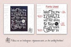 Handwritten Font Bundle Product Image 6