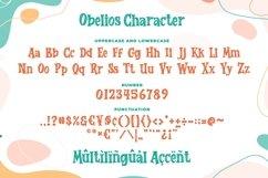 Obelios a Bouncy Serif Font Product Image 2