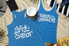 Web Font Ocean Horn Font Product Image 2