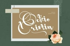 Web Font OckieCristin Product Image 1