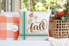 Fall Sweet Fall SVG | Autumn Farmhouse Design Product Image 3