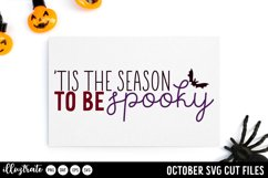 October SVG Cut Files | Halloween SVG Product Image 2