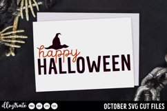 October SVG Cut Files | Halloween SVG Product Image 4