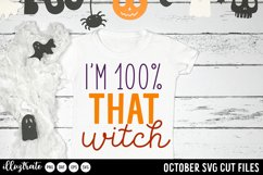 October SVG Cut Files | Halloween SVG Product Image 5