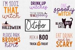 October SVG Cut Files