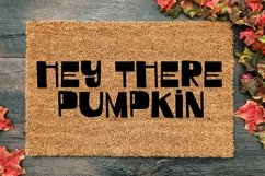 Web Font October Vibes - A Groovy Handlettered Font Product Image 3