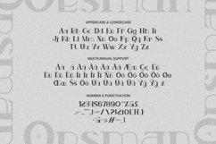 Web Font Oesman Product Image 5