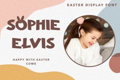 Ohayo Bunny - Easter Display Font Product Image 5