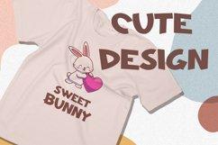 Ohayo Bunny - Easter Display Font Product Image 3