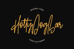 Olgoods Script Font Product Image 4