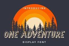 One Adventure Product Image 1