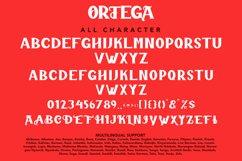 Ortega - Horror Sans Serif Typeface Product Image 2