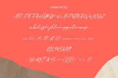 Oshirist Script Font Product Image 3