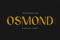 Web Font Osmond Font Product Image 1