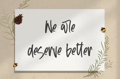 Otherwise - Cute Handletter Font Product Image 2