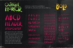 Outright Horror: Hand-drawn Halloween Font Product Image 3