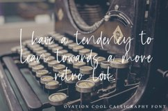 Ovation - Cool Calligraphy Font Product Image 6