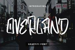 Overland - Graffiti Font Product Image 1