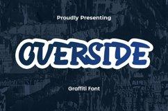 Web Font Overside - Graffiti Font Product Image 1