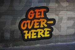 Web Font Overside - Graffiti Font Product Image 3