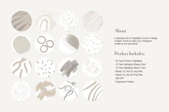 Beige Abstract Instagram Highlight Icons   Highlight Covers Product Image 3