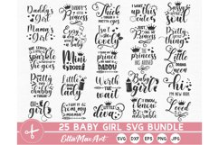 Baby SVG Bundle, Baby Girl Bundle, Baby svg, Baby Quote Product Image 1