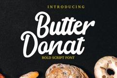 Butter Donat Bold script Product Image 1