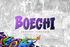 Boeghi - Graffiti Typeface Product Image 1