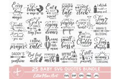 Baby SVG Bundle, Cute Baby Sayings SVG, Baby Quote Bundle Product Image 3