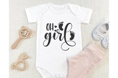 Baby SVG Bundle, Baby Girl Bundle, Baby svg, Baby Quote Product Image 4