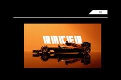 FUIXG - Futuristic Race Typeface Product Image 3
