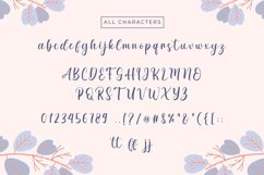 Spring Date - Sweet Calligraphy Product Image 5