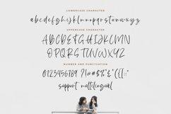 White Sunlight - Natural Brush Font Product Image 2